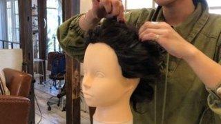 今から練習できるまとめ髪① ピンだけで作るアップヘア