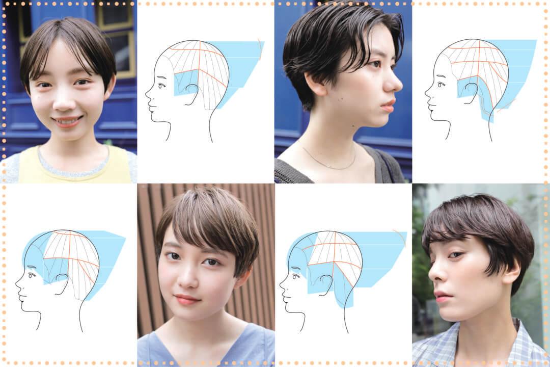 ミニマムショート①【髪質に合わせてつくり分ける】