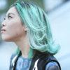 TOMOTOMOヘアカラー通信2「メンテナンスに新鮮グリーン」