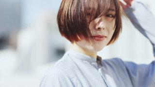 TOMOTOMOヘアカラー通信9「すそにオレンジのツートーンカラー」